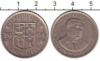 Изображение Дешевые монеты Маврикий 1 рупия 2004 Медно-никель XF-
