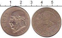 Изображение Дешевые монеты Северная Америка Мексика 1 песо 1971 Медно-никель XF