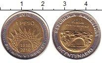 Изображение Дешевые монеты Южная Америка Аргентина 1 песо 2010 Биметалл XF