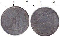 Изображение Дешевые монеты Европа Люксембург 1 франк 1943 Медно-никель XF-