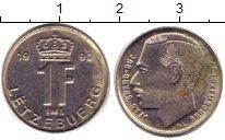 Изображение Дешевые монеты Европа Люксембург 1 франк 1990 Медно-никель XF-