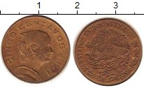 Изображение Дешевые монеты Северная Америка Мексика 20 сентаво 1971 Медь XF-