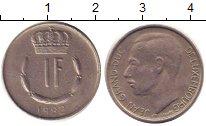 Изображение Дешевые монеты Европа Люксембург 1 франк 1982 Медно-никель XF
