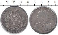 Изображение Монеты Франция 1 экю 1736 Серебро VF Людовик XV.