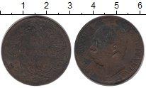 Изображение Монеты Европа Италия 10 сентесим 1893 Бронза VF