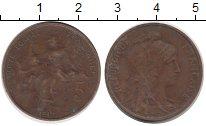 Изображение Монеты Франция 5 сентим 1917 Медь VF
