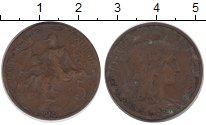 Изображение Монеты Франция 5 сентим 1914 Бронза VF
