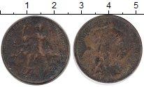 Изображение Монеты Европа Франция 5 сентим 1916 Бронза VF