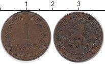 Изображение Монеты Нидерланды 1 цент 1902 Бронза VF