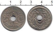 Изображение Мелочь Франция 25 сентим 1939 Медно-никель XF