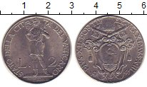 Изображение Монеты Европа Ватикан 2 лиры 1941 Железо XF
