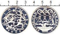 Изображение Монеты Сан-Марино 10 евро 2003 Серебро Proof