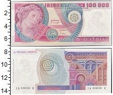 Изображение Банкноты Европа Италия 100000 лир 1978  XF+