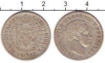 Изображение Монеты Пруссия 1/6 талера 1823 Серебро XF