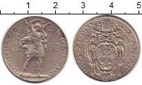Изображение Монеты Европа Ватикан 50 сентим 1932 Медно-никель XF