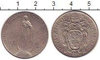 Изображение Монеты Европа Ватикан 1 лира 1934 Медно-никель XF