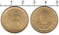 Изображение Монеты Сан-Марино 200 лир 1997 Латунь XF