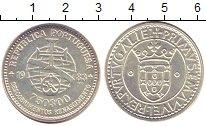 Изображение Монеты Португалия 750 эскудо 1983 Серебро UNC XVII  европейская  х
