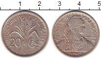 Изображение Монеты Индокитай 20 сентим 1941 Медно-никель XF