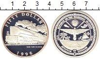 Изображение Монеты Австралия и Океания Маршалловы острова 50 долларов 1996 Серебро Proof-