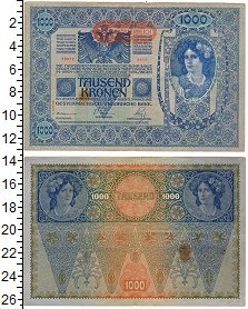 Изображение Банкноты Европа Австрия 1000 крон 0  XF