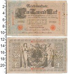 Изображение Банкноты Германия 1000 марок 1910  VF