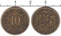 Изображение Монеты Австрия 10 геллеров 1915 Медно-никель VF