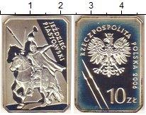 Изображение Монеты Польша 10 злотых 2006 Серебро Proof- Пястовский всадник