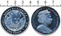 Изображение Монеты Великобритания Фолклендские острова 1 крона 2007 Серебро Proof