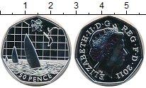 Изображение Монеты Великобритания 50 пенсов 2011 Серебро UNC Елизавета II.  Олимп