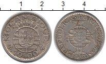 Изображение Монеты Мозамбик 10 эскудо 1954 Серебро XF