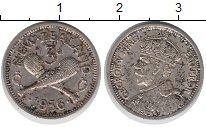 Изображение Монеты Новая Зеландия 3 пенса 1936 Серебро VF