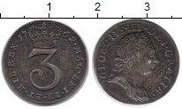 Изображение Монеты Великобритания 3 пенса 1762 Серебро VF