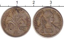 Изображение Монеты Индокитай 10 центов 1941 Медно-никель XF