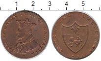 Изображение Монеты Европа Великобритания 1/2 пенни 1794 Медь XF+