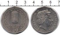 Изображение Мелочь Австралия 50 центов 2014 Медно-никель UNC-