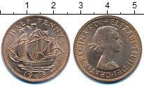 Изображение Мелочь Великобритания 1/2 пенни 1965 Бронза UNC-