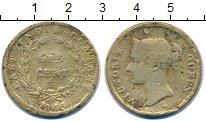 Изображение Монеты Великобритания Стрейтс-Сеттльмент 1 цент 1845 Бронза VF