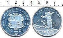 Изображение Монеты Андорра 10 динерс 2005 Серебро Proof-