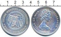 Изображение Монеты Великобритания Остров Мэн 25 пенсов 1972 Медно-никель UNC