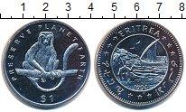 Изображение Монеты Африка Эритрея 1 доллар 1994 Медно-никель UNC