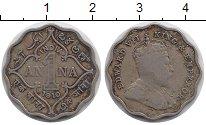 Изображение Монеты Азия Индия 1 анна 1910 Медно-никель VF