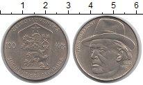 Изображение Монеты Чехия Чехословакия 100 крон 1982 Серебро XF