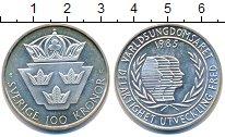 Изображение Монеты Европа Швеция 100 крон 1985 Серебро UNC-