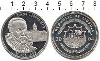 Изображение Монеты Африка Либерия 20 долларов 2004 Серебро Proof-