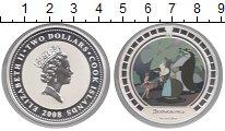Изображение Монеты Острова Кука 2 доллара 2008 Серебро Proof