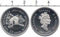 Изображение Монеты Северная Америка Канада 25 центов 1992 Серебро Proof