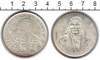 Изображение Монеты Северная Америка Мексика 100 песо 1978 Серебро UNC