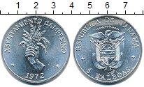 Изображение Монеты Панама 5 бальбоа 1972 Серебро XF