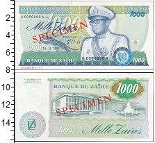 Изображение Банкноты Конго Заир 1000 заиров 1985  XF+